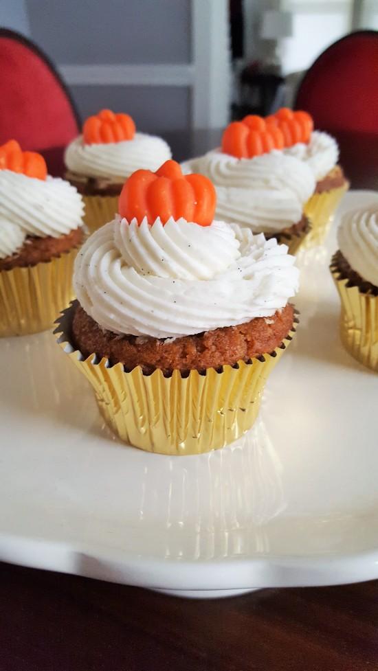 Pumpkin Cupcakes Vertical